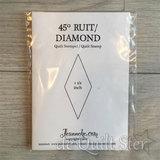 Stempel - 45° Diamond 1,5inch_