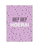 Ansichtkaart - Hiep Hiep Hoera_