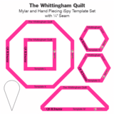 Christopher Wilson-Tate | The Whittingham Quilt - templates *PRE-ORDER*_