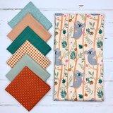 Wij stellen graag een stofpakketje samen voor bijvoorbeeld een baby/kinder quilt