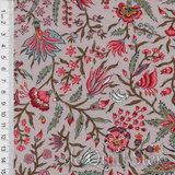 Antique Textiles Company   Chintz Provence Taupe [4023]_