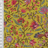 Antique Textiles Company | Chintz Provence Green [4023]_