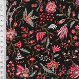 Antique Textiles Company | Chintz Provence Brown [4023]_
