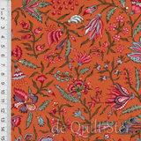 Antique Textiles Company | Chintz Provence Orange [4023]_
