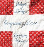 De originele stof welke Barbara voor haar ontwerp heeft gebruikt. Bron: Modafabrics.com