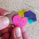 SewTites Magnetic Sewin Pins - Tula Pink Hearts _