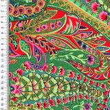 Kaffe Fassett Collective | Paisley Jungle Green [GP060]_
