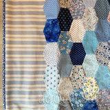 Hieronder zie je het de Sweet Lollipop quilt, welke is gemaakt door Janie uit Ouddorp. Rond het middenstuk van deze quilt komt