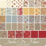 Moda Charm Pack   Jardin de Fleur by French General_