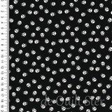 Holiday Essentials   Halloween Skulls zwart/wit [40733-12]_