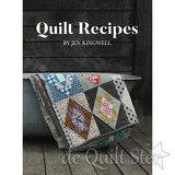 Het patroon staat beschreven in het boek Quilt Recipes (link in tekst)