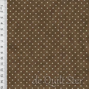 Essential Dots | Cocoa met stippen ivoor [8654-56]