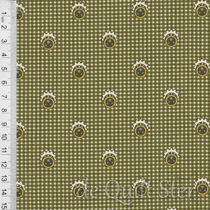 COUPON Mollie B Style Series | Ruit groen [0923-0150] 90x110cm