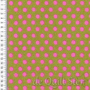 Kaffe Fassett Collective | Spot Groen/Roze Lichen [GP070]