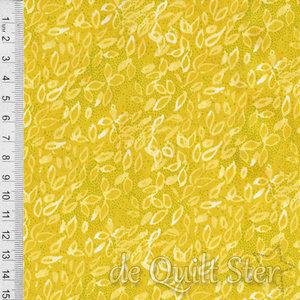 COUPON Dandi Annie | Gebladerte geel [48635-18] 75x110cm