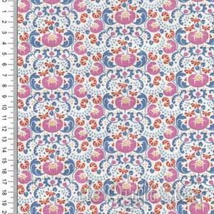 COUPON Tilda Lazy Days | Mildred Blue [100173] 135x110cm