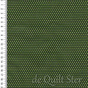 COUPON Sunshine Orchard | Stippen groen/donker-groen [65756] 47x110cm