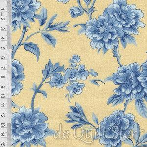 SALE Regency Ballycastle | Rozen geel/blauw [42320-21]