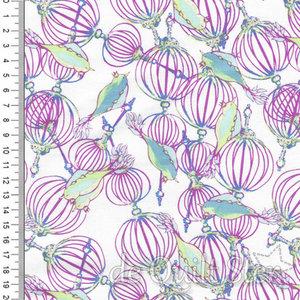SALE Feather Flock   Birdcage [PWTG170.LILAC]