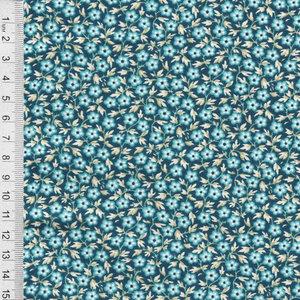 COUPON Royal Blue   Patch Deep Sea [9178B] 176x110cm