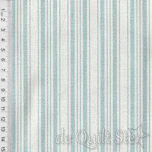 Tilda Tea Towel   Spongecake Stripes Teal [130066]