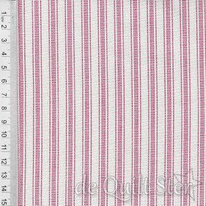 Tilda Tea Towel   Apple Cake Stripes Red [130068]