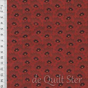 SALE General Store | Bloemen rood [51458-8]