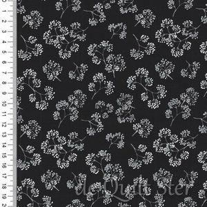 SALE Midnight Pearl | Bessentakjes zwart/wit/zilver [7884P-12]