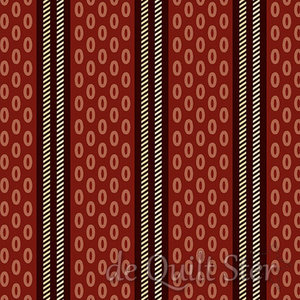 SALE Chesapeake | Oval Stripe red [9333NR]