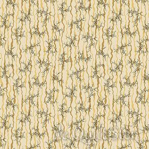 COUPON Chesapeake | Ribbon and Dots tan [9329N] 125x110cm