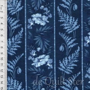 COUPON Regency Ballycastle | Randstof blauw [42322-14] 161x110cm