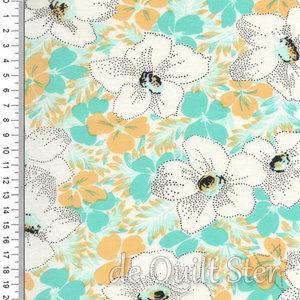 Fine and Sunny   Alstroe Flower mint/geel [18170-14]