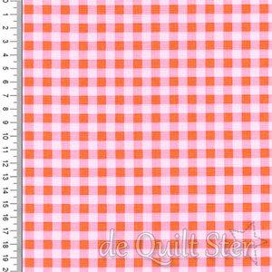 Play Outside | Ruitjes roze/oranje [9064]