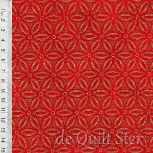 Holiday | Flowers rood/goud [CM7298]