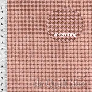 Toolbox Basics   Pied-de-poule Dusty Rose [0704-0125]