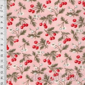 COUPON Daybreak | Bessentakjes roze [44244-12] 62x110cm