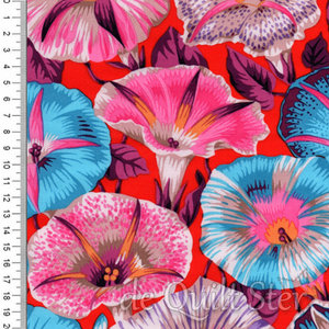Kaffe Fassett Collective | Variegated Morning Glory Red [PJ098]