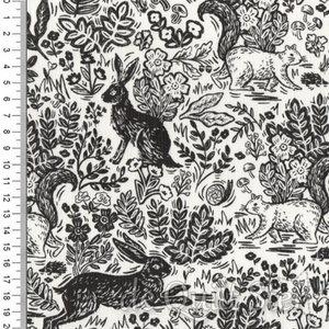 Wildwood | Konijn en Eekhoorn graphite [RP103]