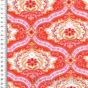 High Street   Medaillon orange/pink [11471-29]