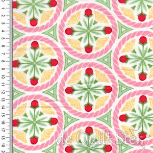 Pedal Pushers | Medaillon geel/roze/groen/rood [25081-12]