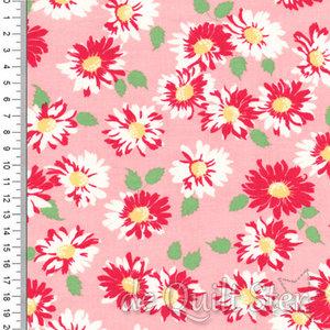 Cheery   Bloemen roze/rood/groen [31143-12]