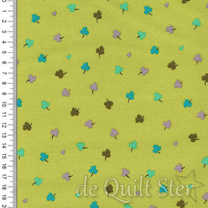 Solstice   Klavertjes groen/teal [51935-5]