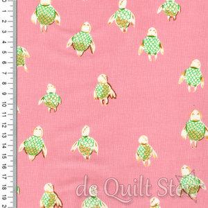 Malibu | Schildpadjes roze/groen [52150-16]