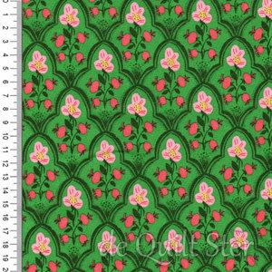 Malibu | Trellis groen/roze [52151-19]