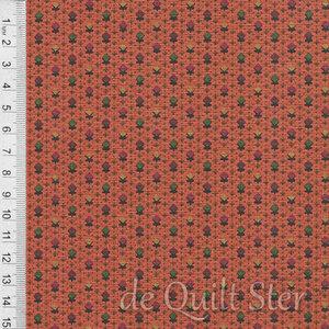 COUPON On Maple Lake oranje-multi [7884-0129] 218x110cm