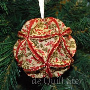Quilt Ster Pakket Patchwork (kerst)bal