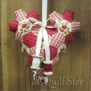 Quilt Ster Pakket Hexagonnen Hart