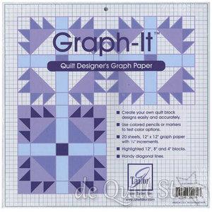 Graph-It Quilt Designers Papier