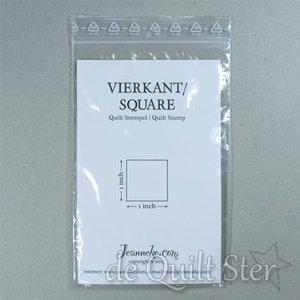 Stempel - Vierkant 1inch