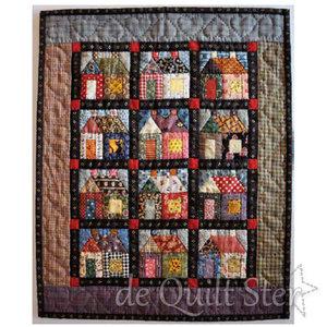 Jeanneke Patroon 'Kleine Huisjes'